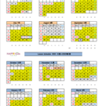 Lesson Schedule 一部変更のお知らせ